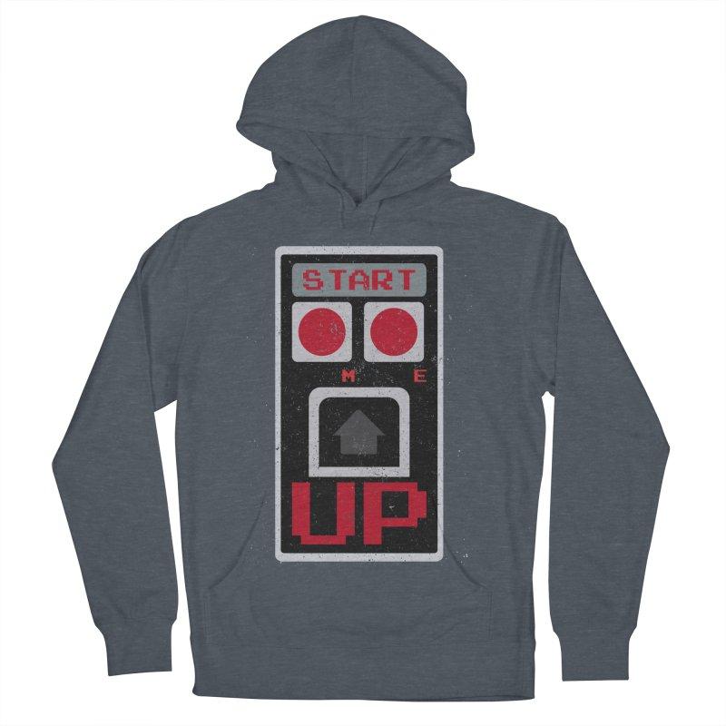 START ME Men's Pullover Hoody by Japiboy's Artist Shop