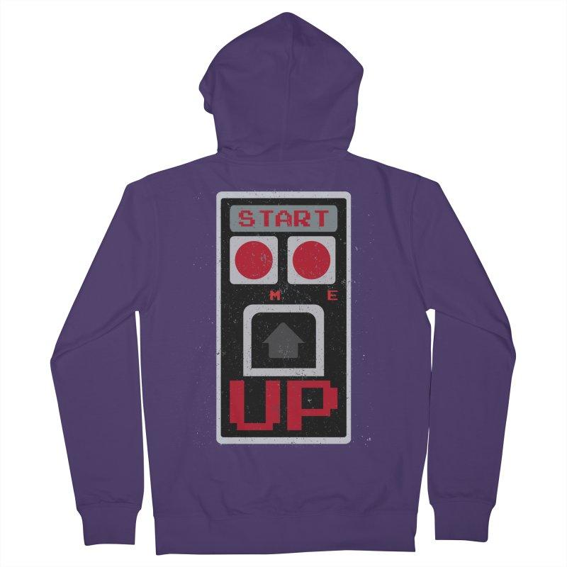 START ME Women's Zip-Up Hoody by Japiboy's Artist Shop