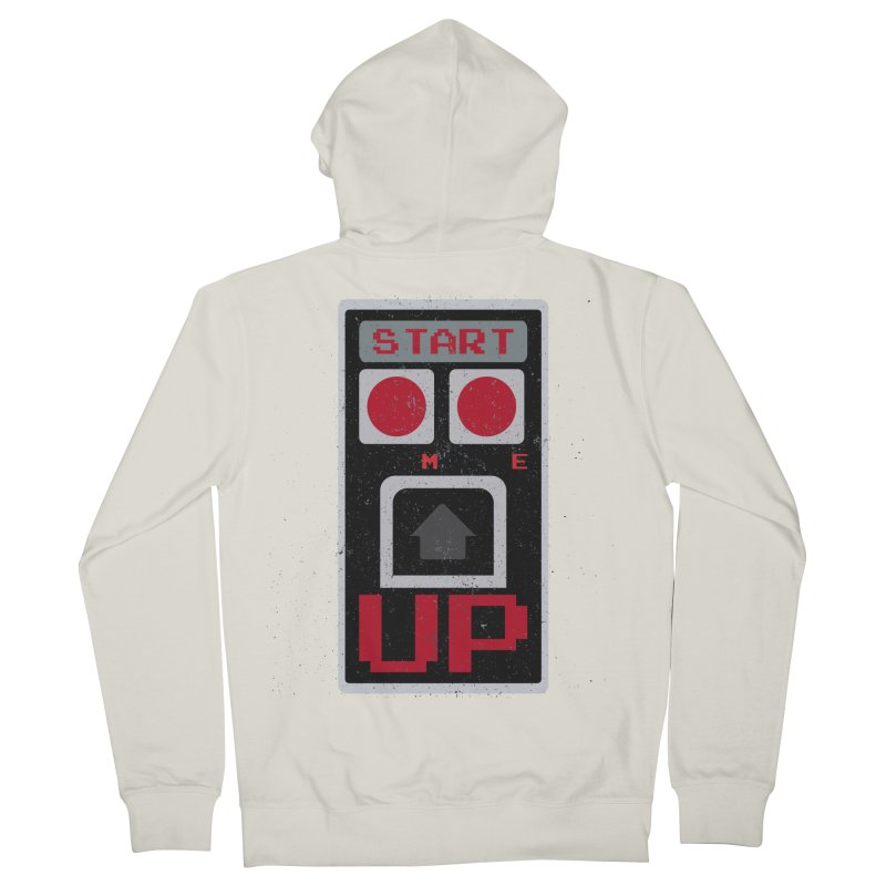 START ME Women's Zip-Up Hoody by Japiboy's Artist Shop