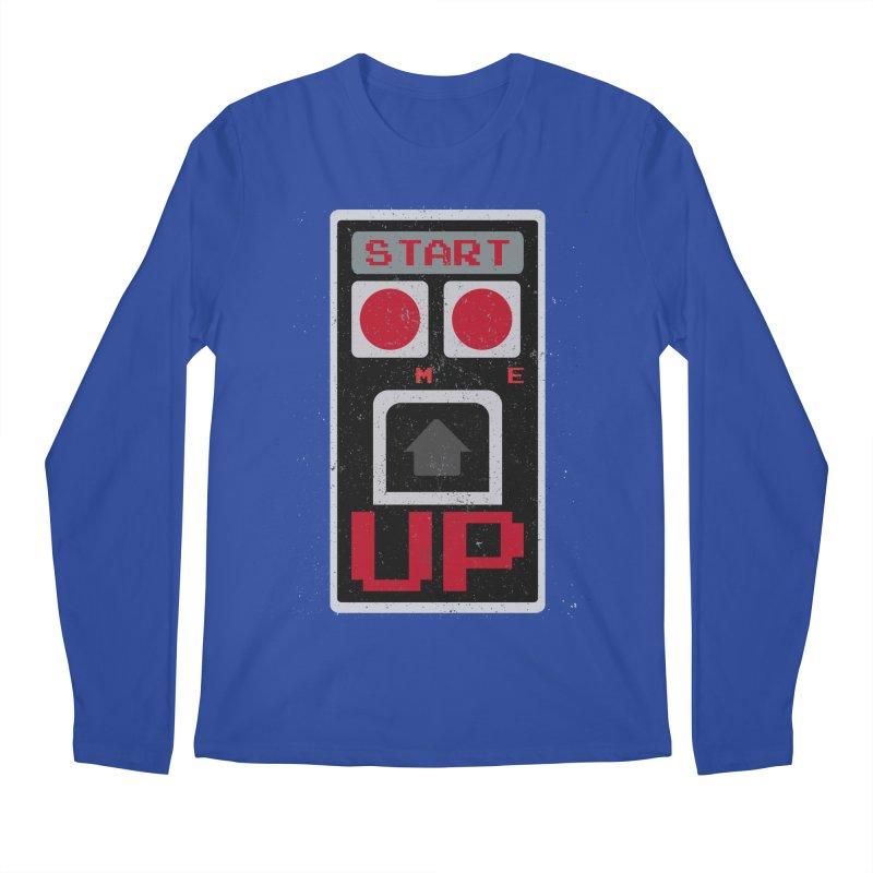 START ME Men's Longsleeve T-Shirt by Japiboy's Artist Shop
