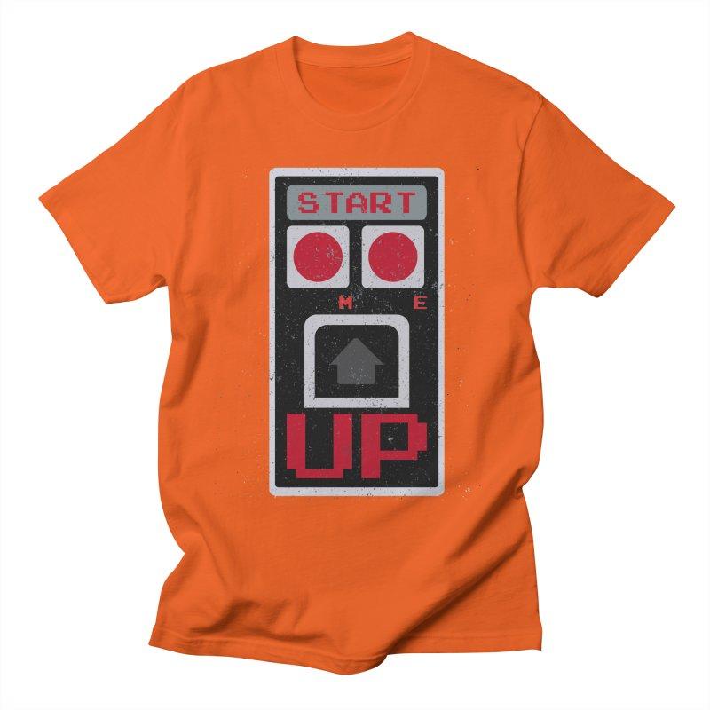 START ME Men's T-Shirt by Japiboy's Artist Shop