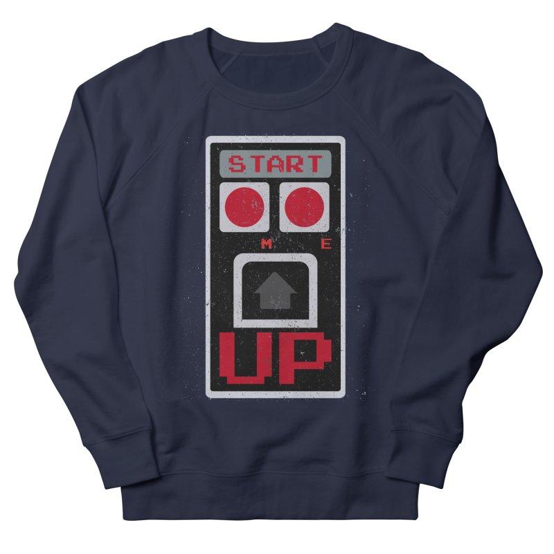 START ME Men's Sweatshirt by Japiboy's Artist Shop
