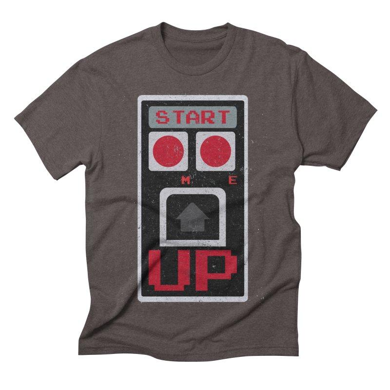 START ME Men's Triblend T-shirt by Japiboy's Artist Shop