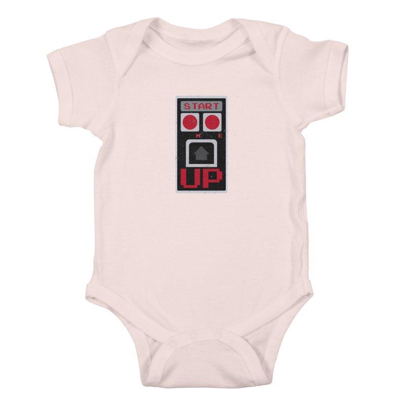 START ME Kids Baby Bodysuit by Japiboy's Artist Shop
