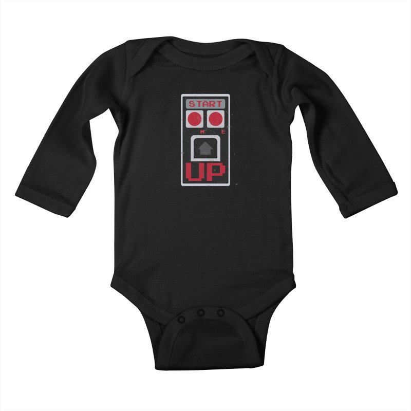 START ME Kids Baby Longsleeve Bodysuit by Japiboy's Artist Shop