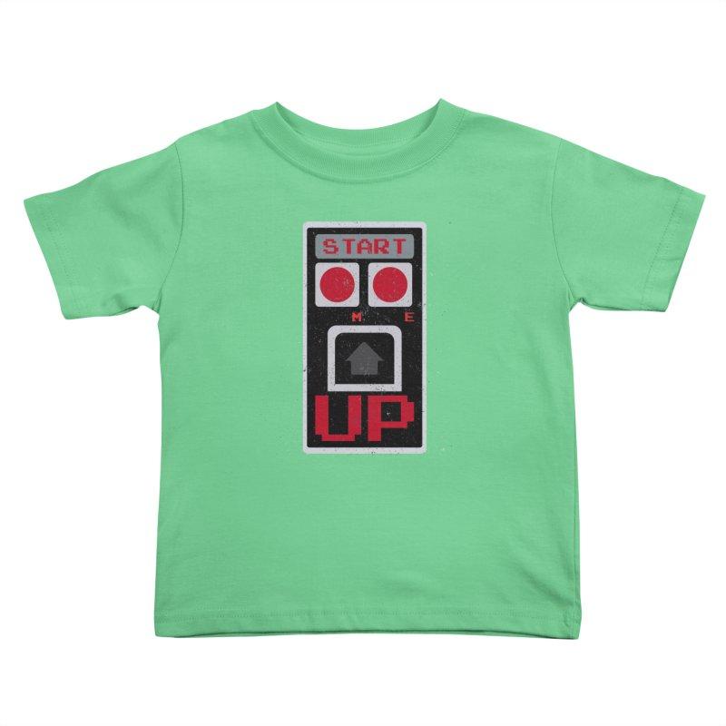 START ME Kids Toddler T-Shirt by Japiboy's Artist Shop