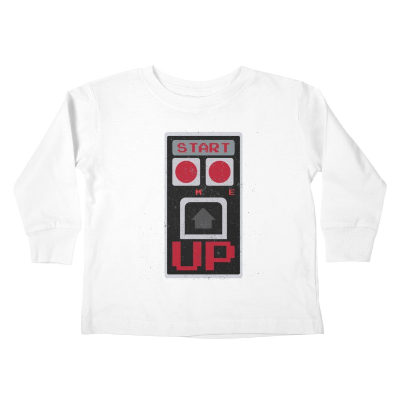 START ME Kids Toddler Longsleeve T-Shirt by Japiboy's Artist Shop