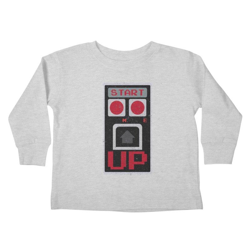 START ME Kids Toddler Longsleeve T-Shirt by Japiboy's Artist Shop