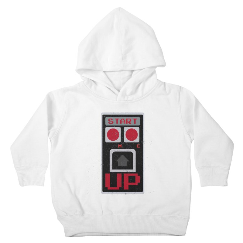 START ME Kids Toddler Pullover Hoody by Japiboy's Artist Shop