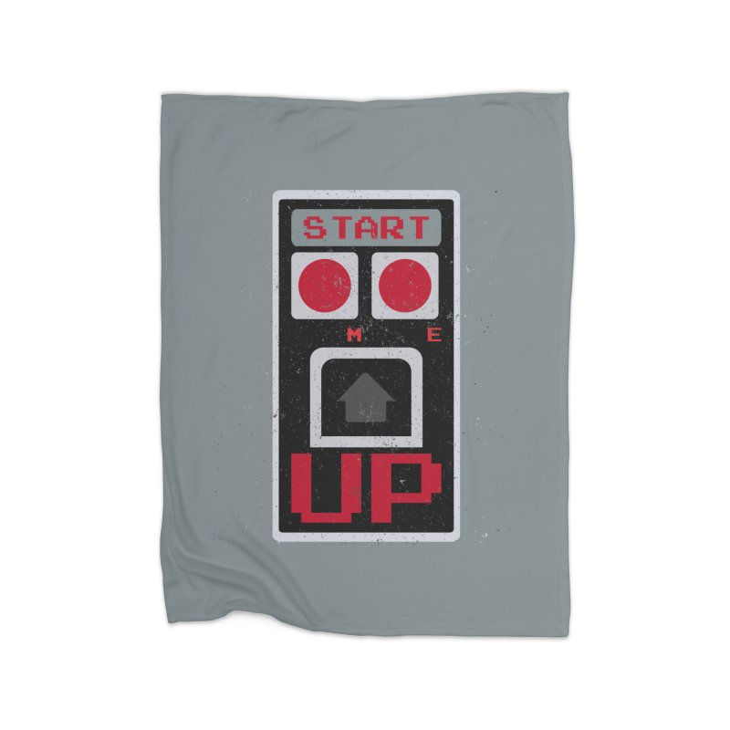 START ME Home Blanket by Japiboy's Artist Shop
