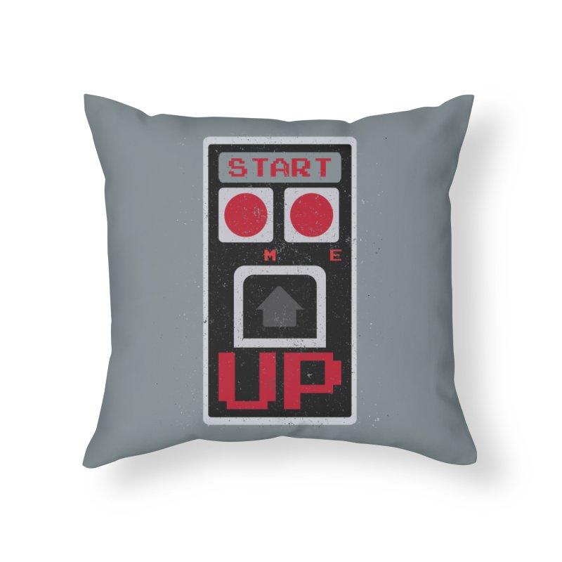 START ME in Throw Pillow by Japiboy's Artist Shop