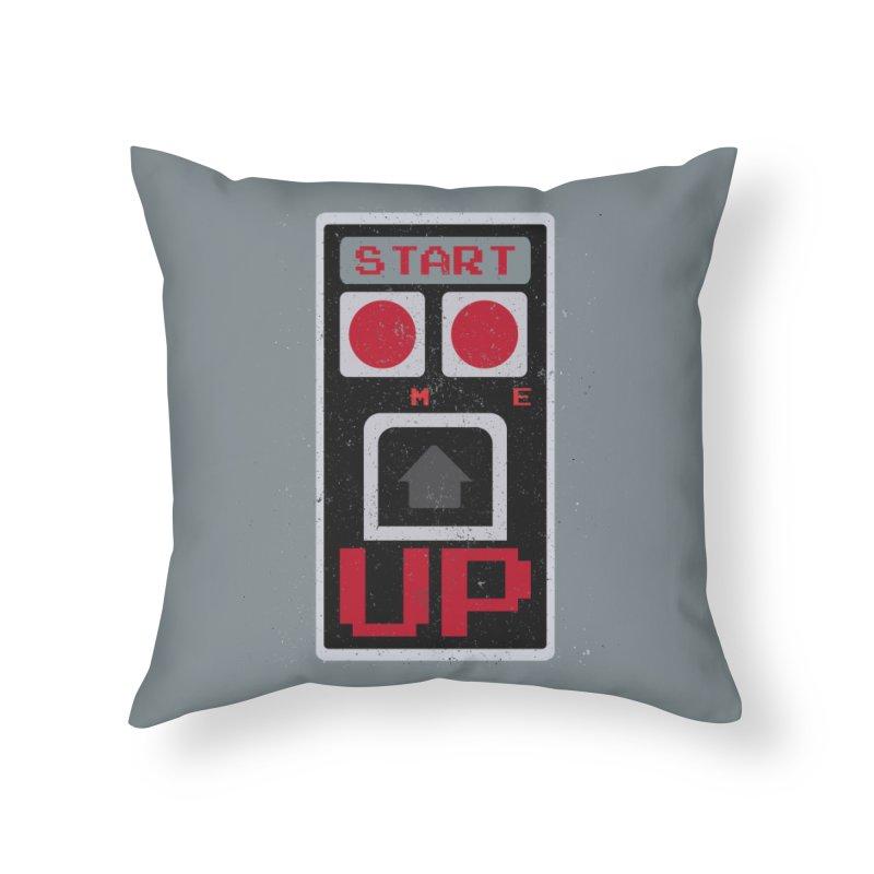 START ME in Throw Pillow by Japiboy's Artist Shop