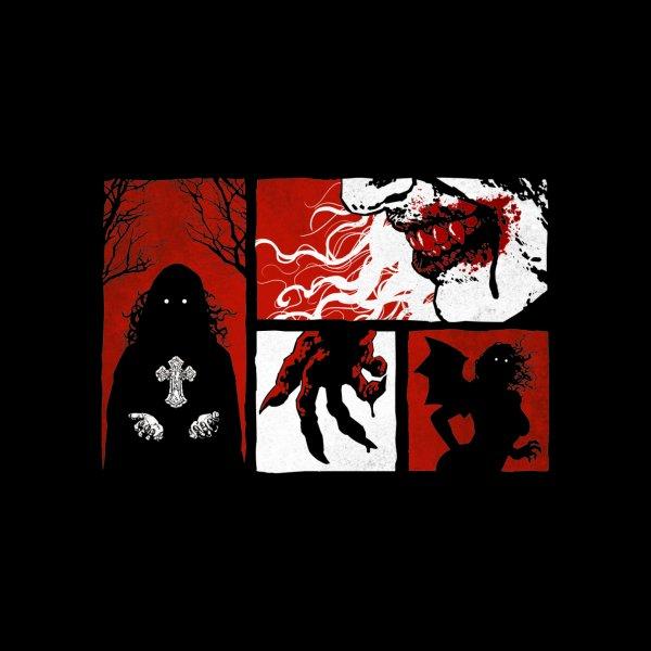 image for Vampire Panels - Horror T Shirt