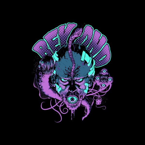 Design for From Beyond - Lovecraft Horror T Shirt