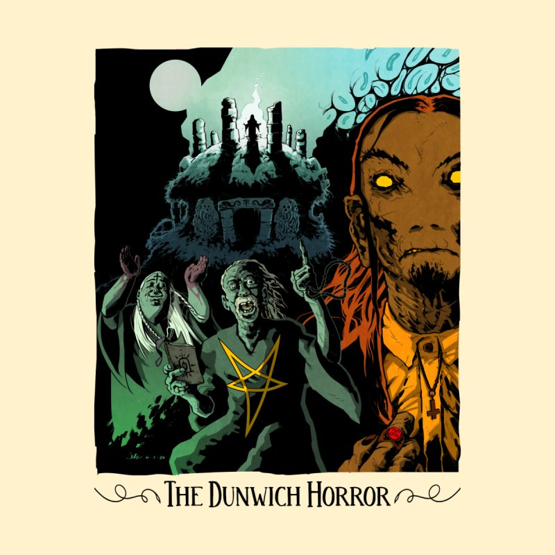 The Dunwich Horror - Lovecraft Horror T Shirt Light Men's T-Shirt by jaredboyer's Artist Shop