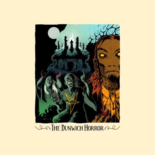 Design for The Dunwich Horror - Lovecraft Horror T Shirt Light