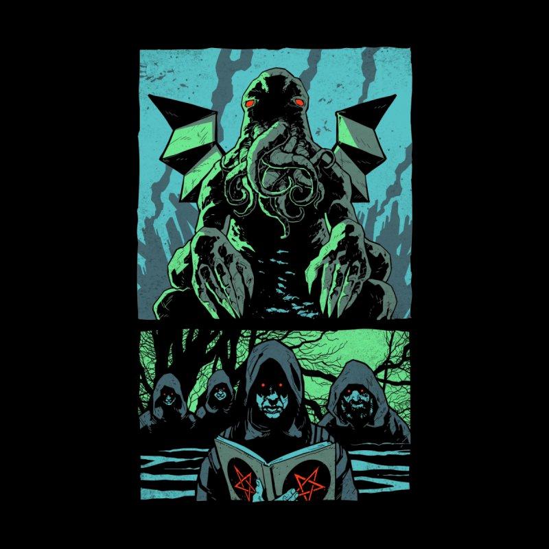Cthulhu Panels - Lovecraft Horror T Shirt Men's T-Shirt by jaredboyer's Artist Shop