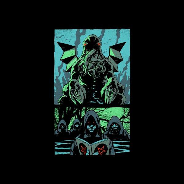 Design for Cthulhu Panels - Lovecraft Horror T Shirt