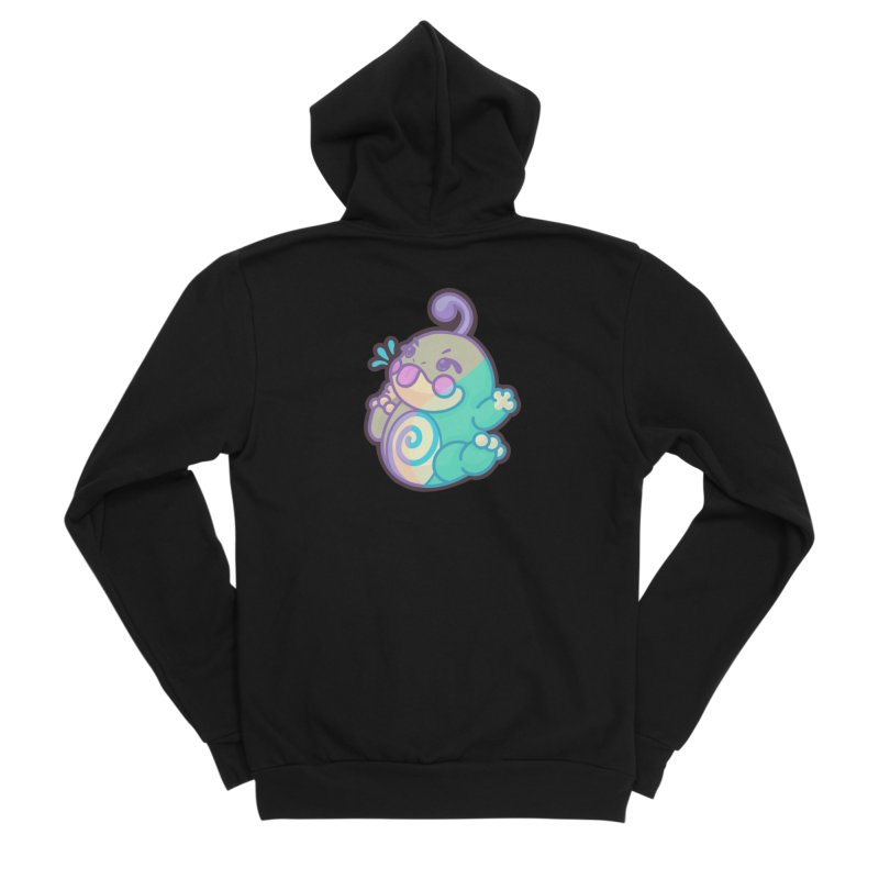 Kawaii Politoed Pokemon Men's Sponge Fleece Zip-Up Hoody by jaredslyterdesign's Artist Shop
