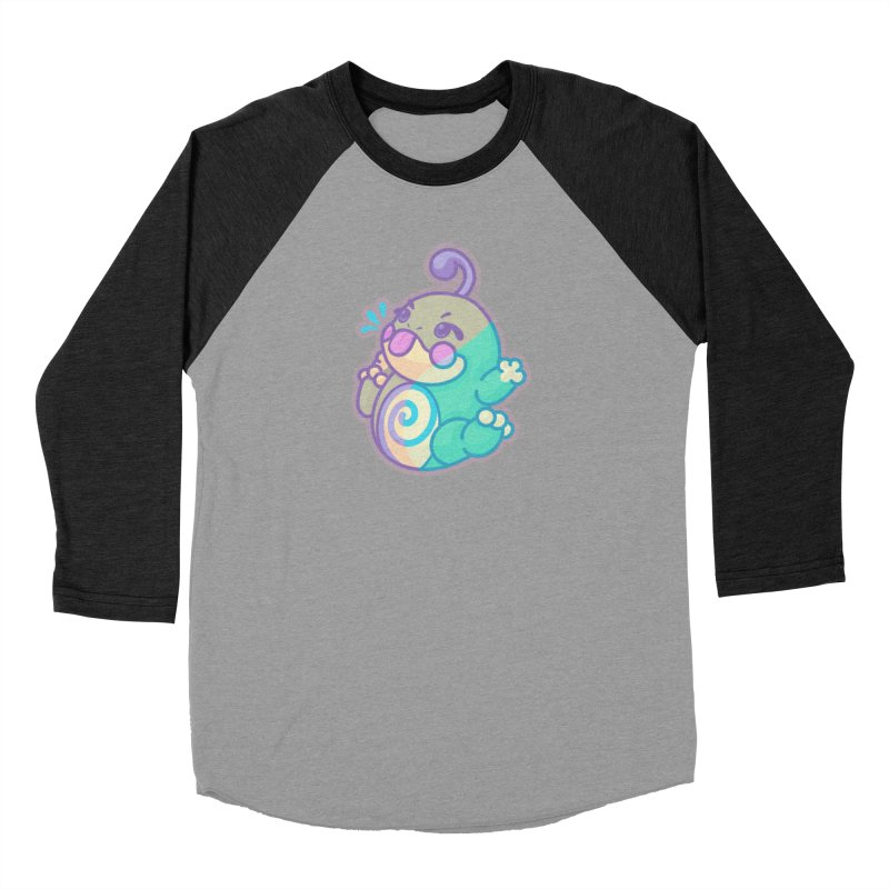 Kawaii Politoed Pokemon Women's Baseball Triblend Longsleeve T-Shirt by jaredslyterdesign's Artist Shop