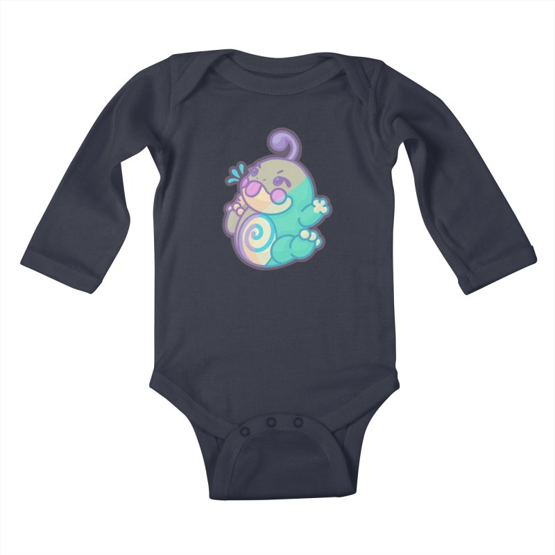 Kawaii Politoed Pokemon Kids Baby Longsleeve Bodysuit by jaredslyterdesign's Artist Shop