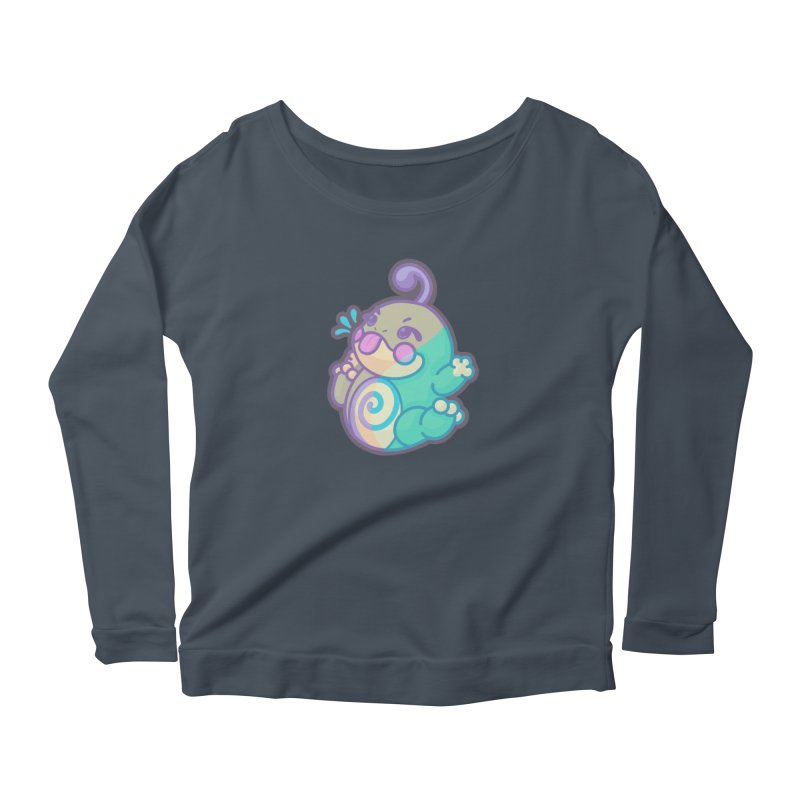 Kawaii Politoed Pokemon Women's Scoop Neck Longsleeve T-Shirt by jaredslyterdesign's Artist Shop