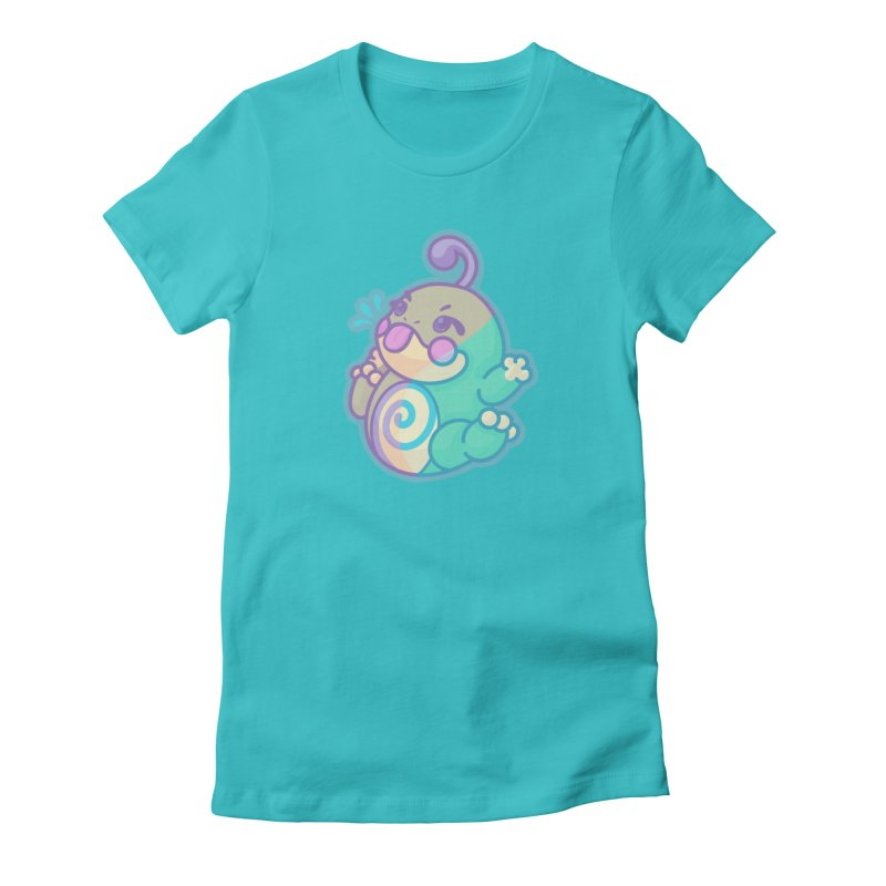 Kawaii Politoed Pokemon Women's Fitted T-Shirt by jaredslyterdesign's Artist Shop