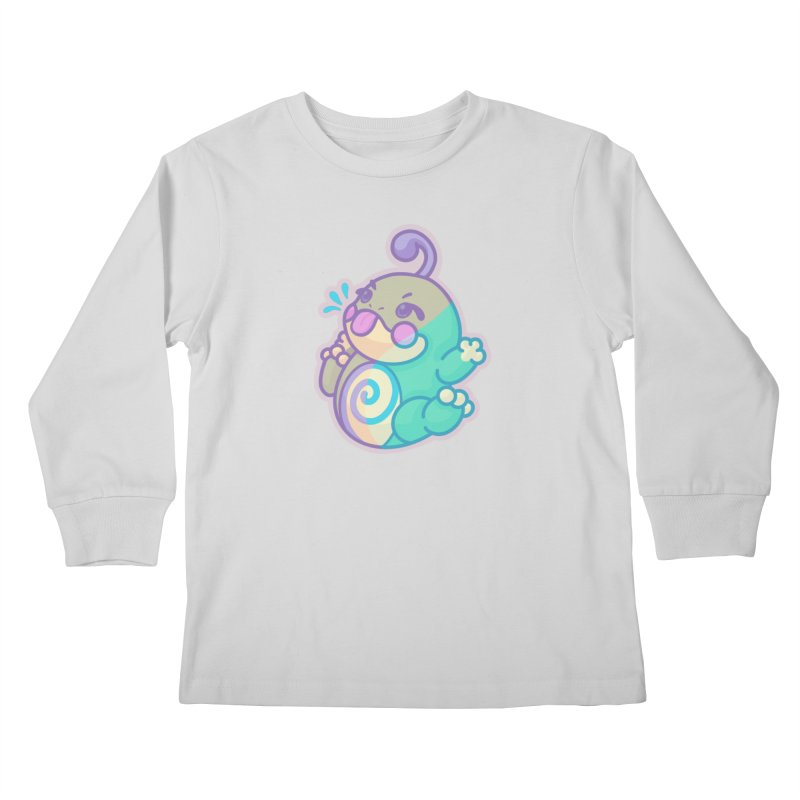 Kawaii Politoed Pokemon Kids Longsleeve T-Shirt by jaredslyterdesign's Artist Shop