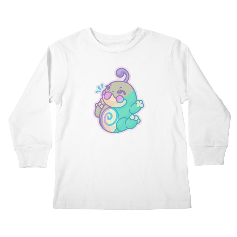 Kawaii Politoed Pokemon Kids Longsleeve T-Shirt by jaredslyterdesign's Artist Shop