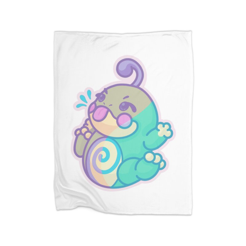 Kawaii Politoed Pokemon Home Fleece Blanket Blanket by jaredslyterdesign's Artist Shop