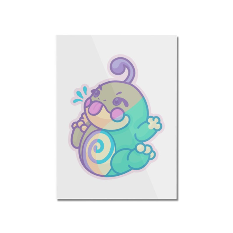 Kawaii Politoed Pokemon Home Mounted Acrylic Print by jaredslyterdesign's Artist Shop