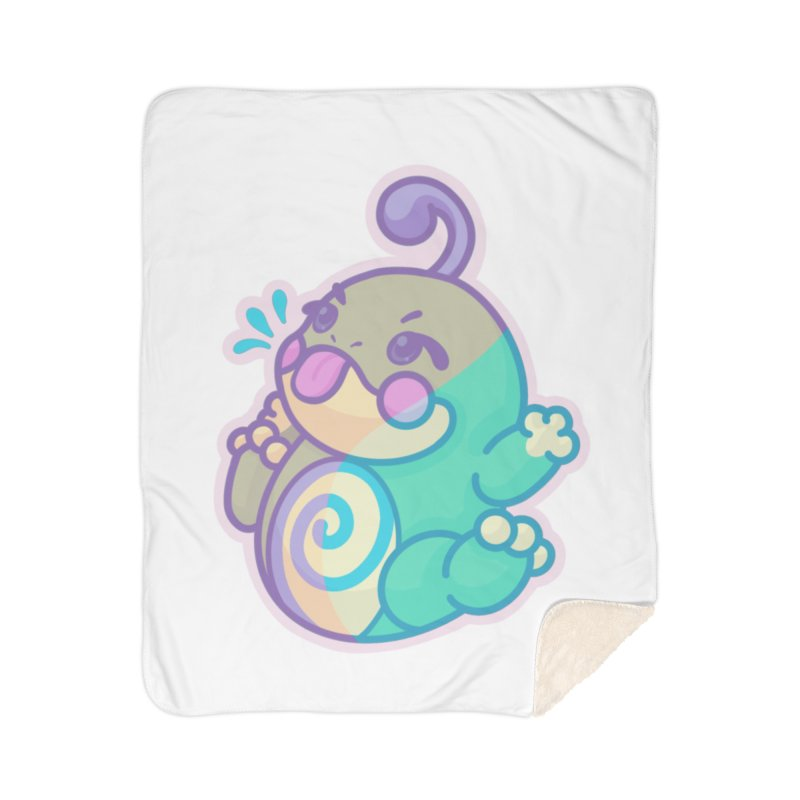Kawaii Politoed Pokemon Home Sherpa Blanket Blanket by jaredslyterdesign's Artist Shop