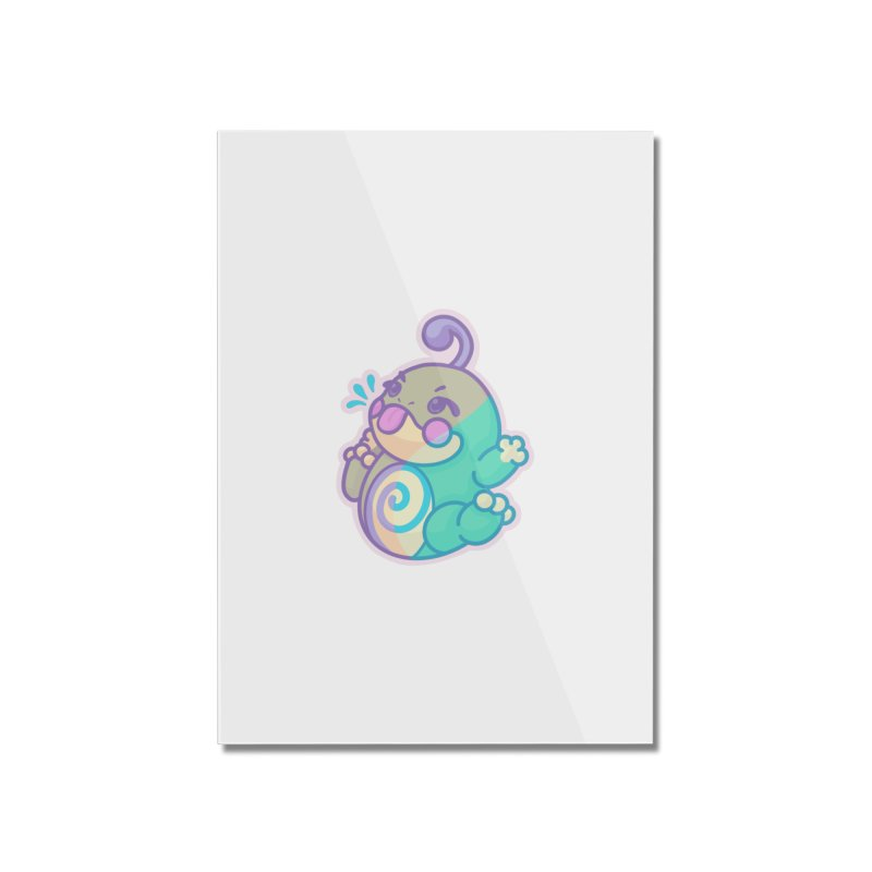 Kawaii Politoed Pokemon Home Mounted Acrylic Print by jaredslyterdesign's Artist Shop