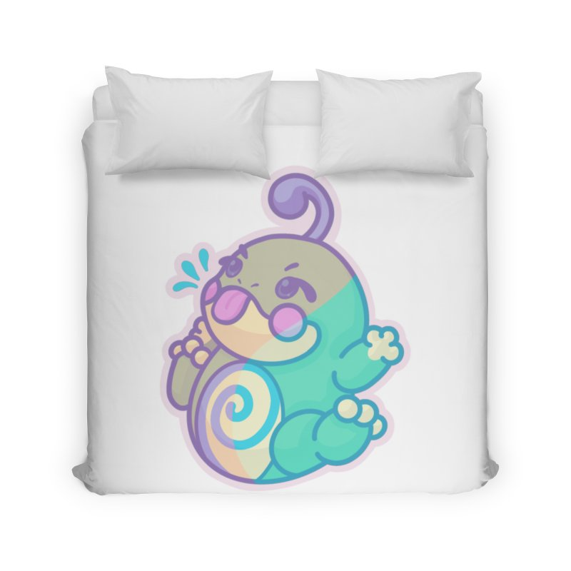 Kawaii Politoed Pokemon Home Duvet by jaredslyterdesign's Artist Shop