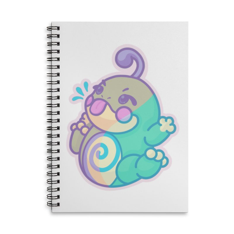 Kawaii Politoed Pokemon Accessories Lined Spiral Notebook by jaredslyterdesign's Artist Shop