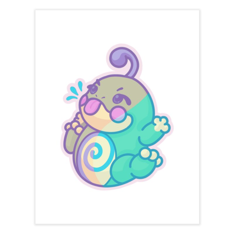 Kawaii Politoed Pokemon Home Fine Art Print by jaredslyterdesign's Artist Shop
