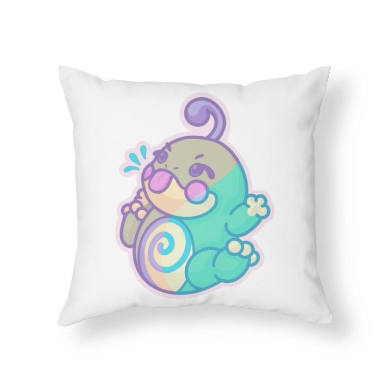 Kawaii Politoed Pokemon Home Throw Pillow by jaredslyterdesign's Artist Shop