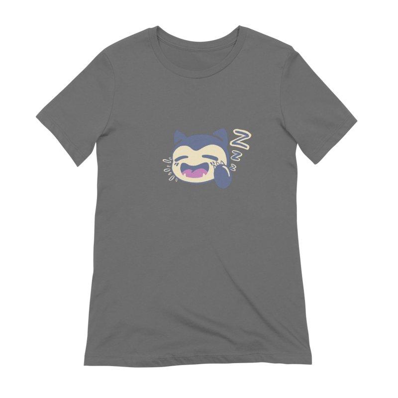 Sleepy Snorlax Women's T-Shirt by jaredslyterdesign's Artist Shop