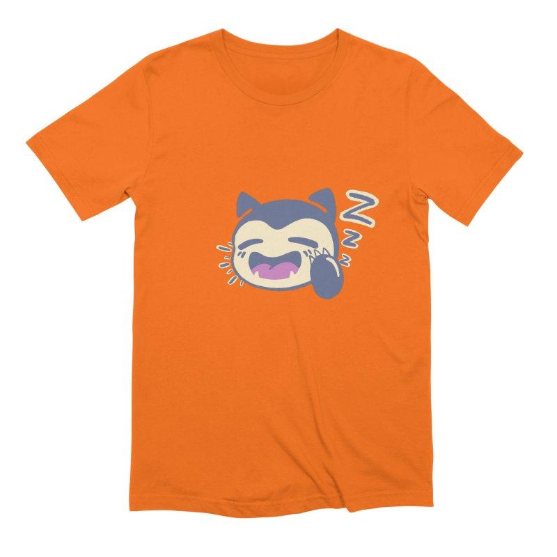 Sleepy Snorlax Men's Extra Soft T-Shirt by jaredslyterdesign's Artist Shop