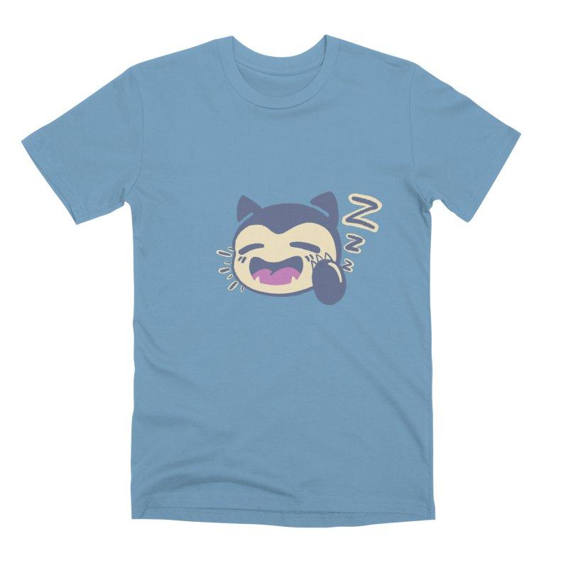 Sleepy Snorlax Men's Premium T-Shirt by jaredslyterdesign's Artist Shop