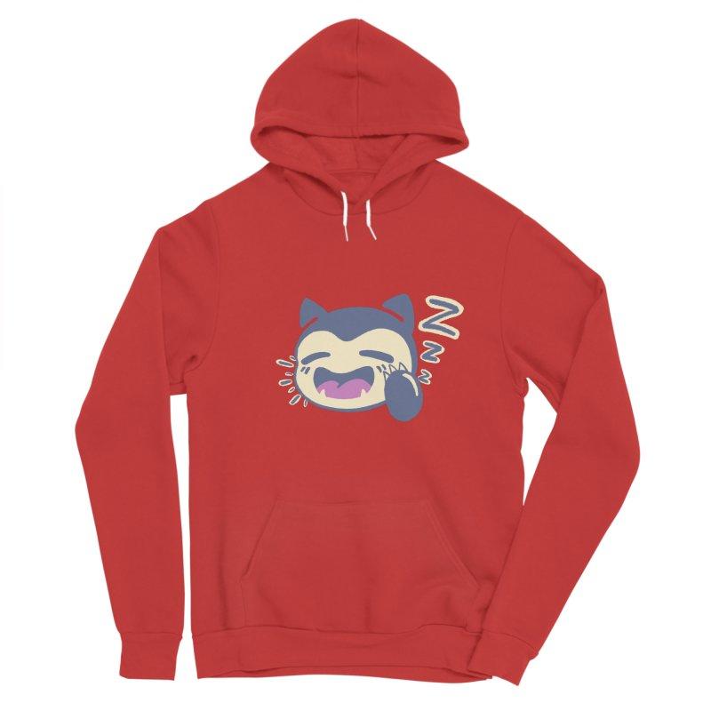 Sleepy Snorlax Men's Sponge Fleece Pullover Hoody by jaredslyterdesign's Artist Shop