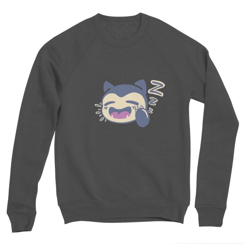 Sleepy Snorlax Men's Sponge Fleece Sweatshirt by jaredslyterdesign's Artist Shop