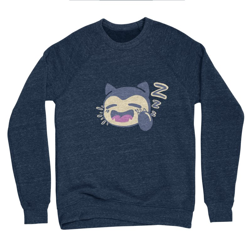 Sleepy Snorlax Women's Sponge Fleece Sweatshirt by jaredslyterdesign's Artist Shop