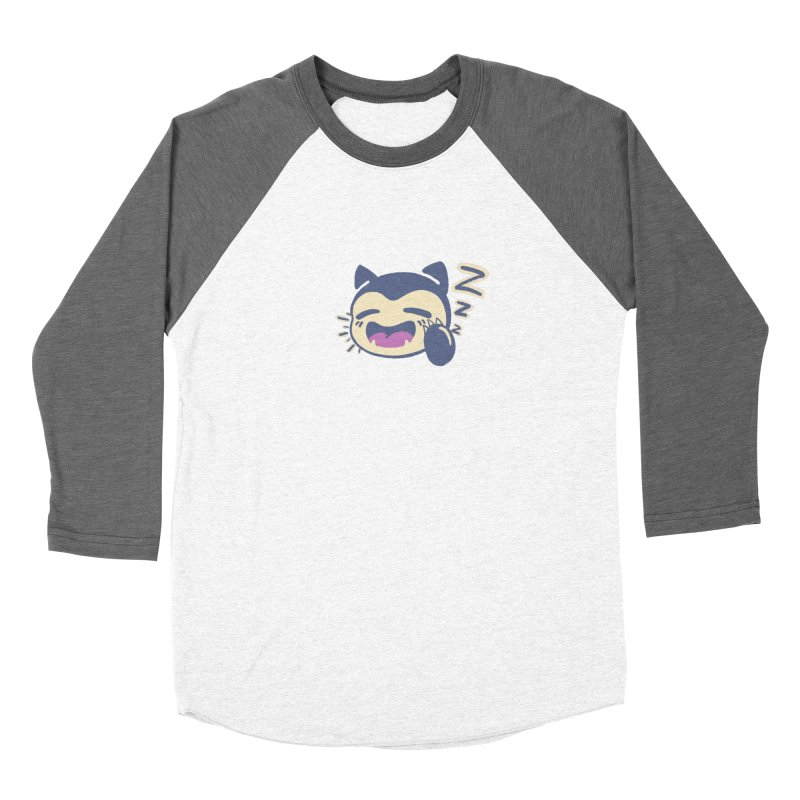 Sleepy Snorlax Women's Longsleeve T-Shirt by jaredslyterdesign's Artist Shop