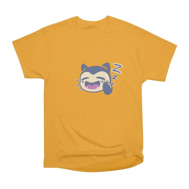 Sleepy Snorlax Men's Heavyweight T-Shirt by jaredslyterdesign's Artist Shop