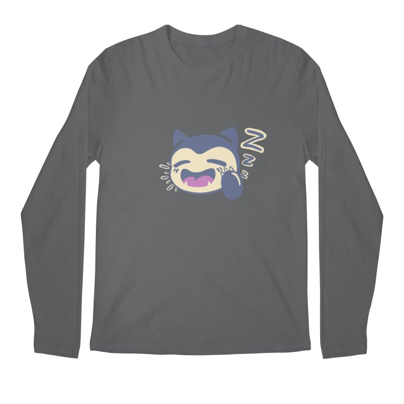 Sleepy Snorlax Men's Longsleeve T-Shirt by jaredslyterdesign's Artist Shop