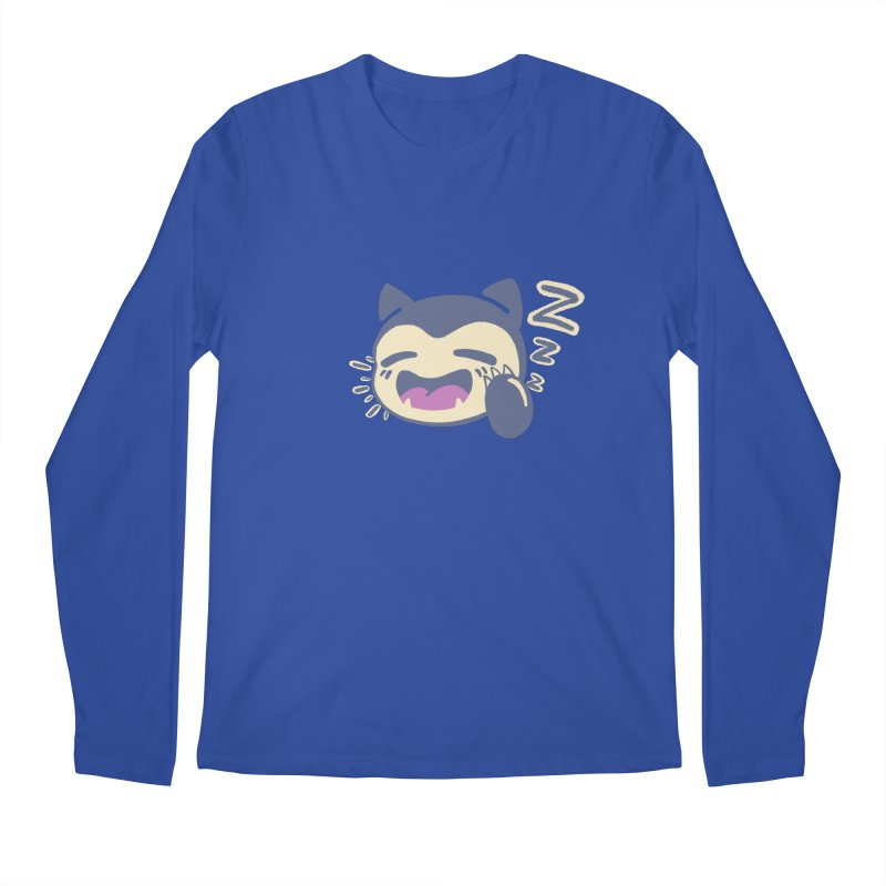 Sleepy Snorlax Men's Regular Longsleeve T-Shirt by jaredslyterdesign's Artist Shop