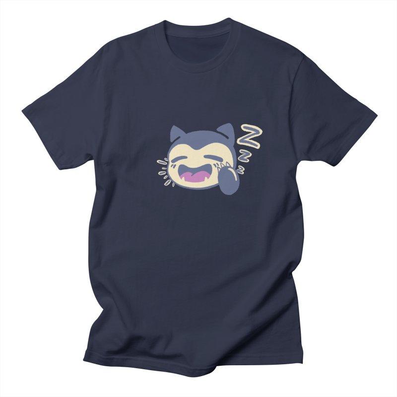 Sleepy Snorlax Men's Regular T-Shirt by jaredslyterdesign's Artist Shop