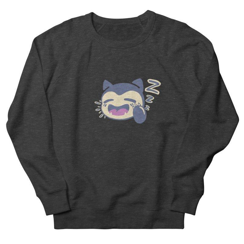 Sleepy Snorlax Women's French Terry Sweatshirt by jaredslyterdesign's Artist Shop