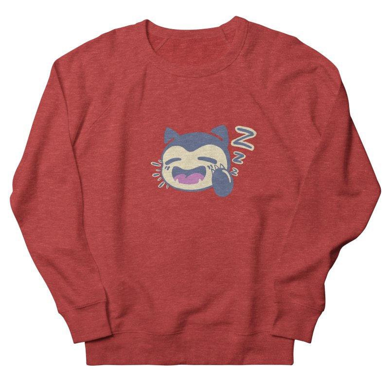 Sleepy Snorlax Men's French Terry Sweatshirt by jaredslyterdesign's Artist Shop